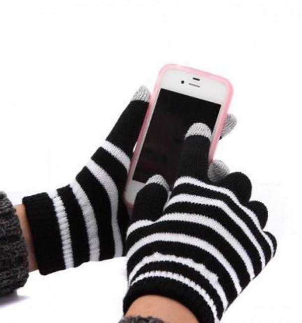 Zimowe rękawiczki do pracy z dotykowym ekranem 1