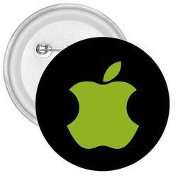 Kitűző harapott alma