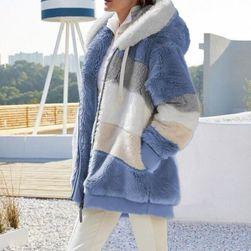 Dámský volný svetr s kapucí Breeda
