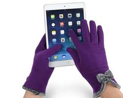 Elegantní dámské rukavice na dotykový displej - 5 barev