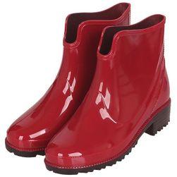 Женские резиновые сапоги JZH5 Красный - Размер 10