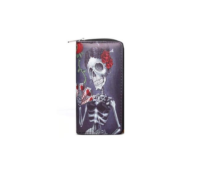 Dámská peněženka Skulleta 1