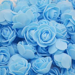 Trandafiri din spumă - 50 bucăți