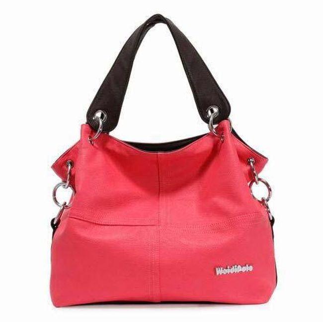 Dámská kabelka pro každodenní nošení - červená 1