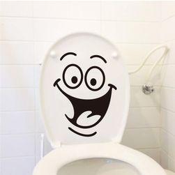 Naklejki na toaletę - 6 wzorów