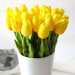 10 mesterséges tulipán készlet - 17 szín
