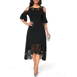 Ženska midi haljina Atreyu