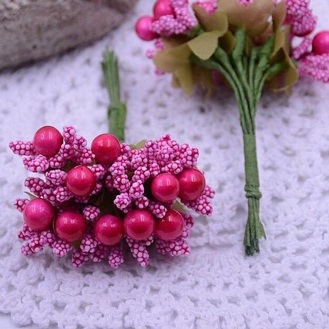 Penasto cvetje - jagode 1