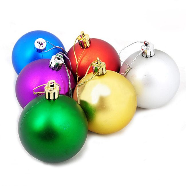 Vánoční dekorační baňka - 6 kusů 1
