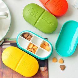 Praktická krabička na léky se šesti přihrádkami