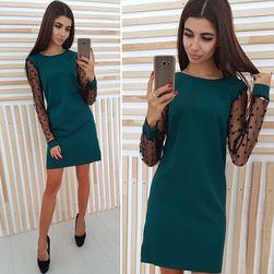 Ženska haljina sa dugačkim rukavima DS28