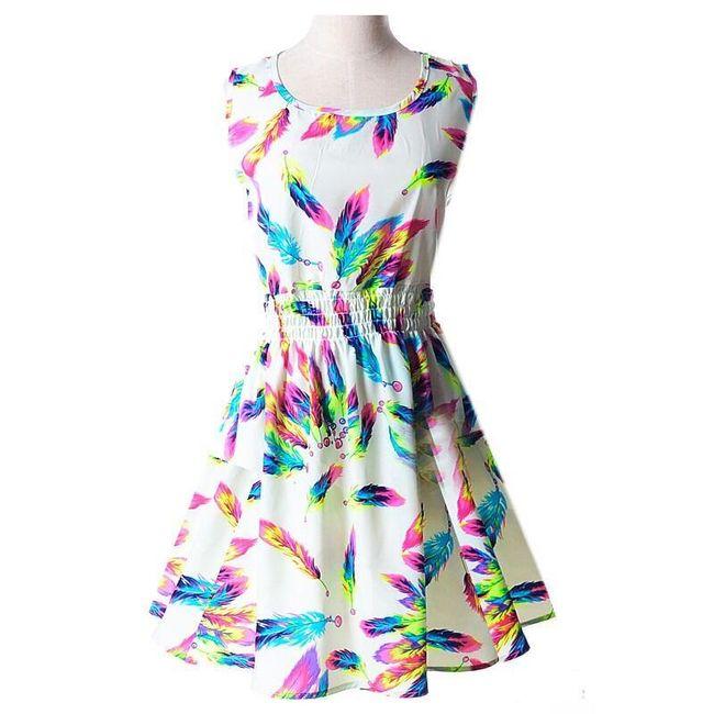 Nyári ruhák modern motívummal  1