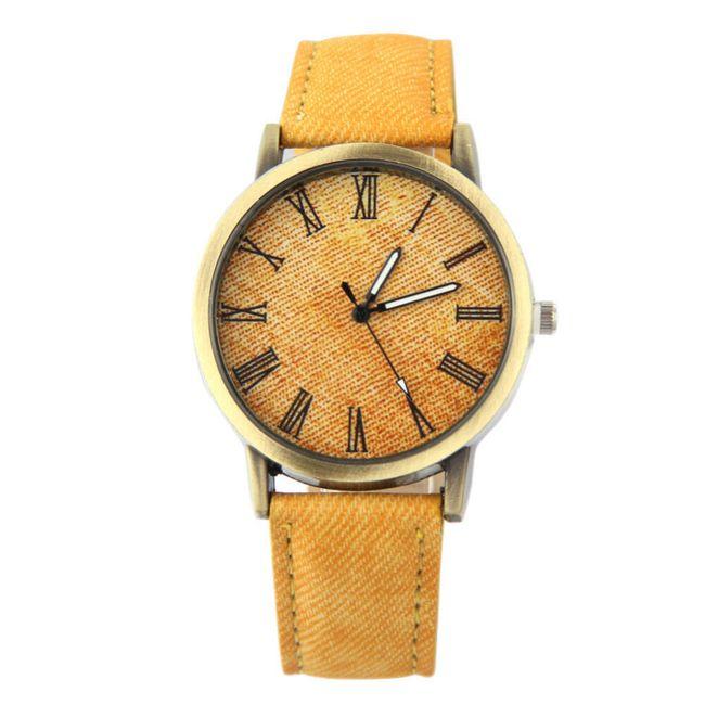 Unisex náramkové hodinky s látkovým páskem 1