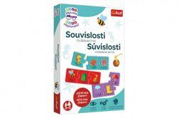 Malý objaviteľ Súvislosti spoločenská náučná hra v krabici 19x29x4cm RM_89001985