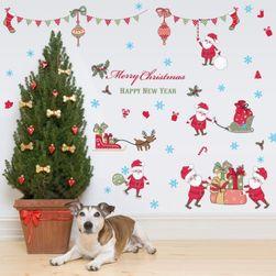 Karácsonyi matrica az ablakon Elia
