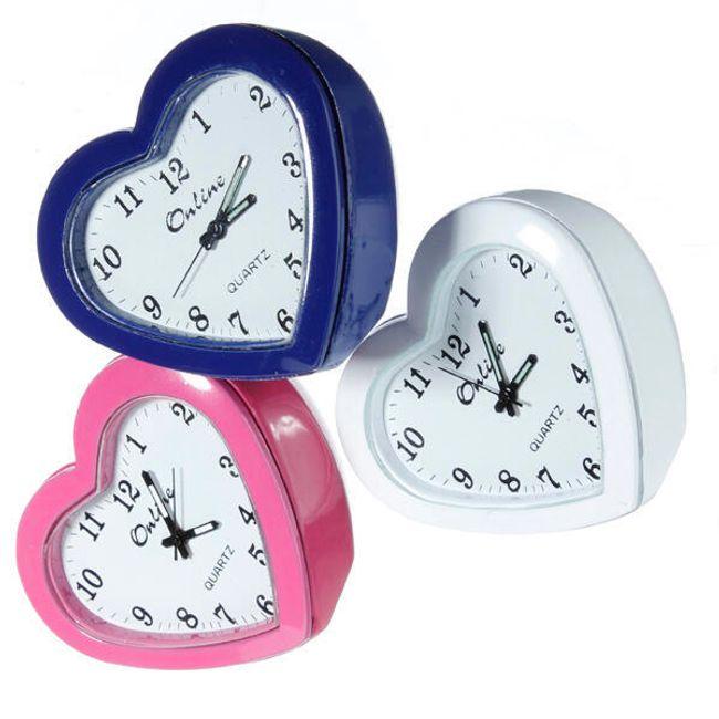 Stolní hodiny ve tvaru srdce 1