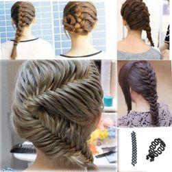 Фризьорски помощник за плетене на коса