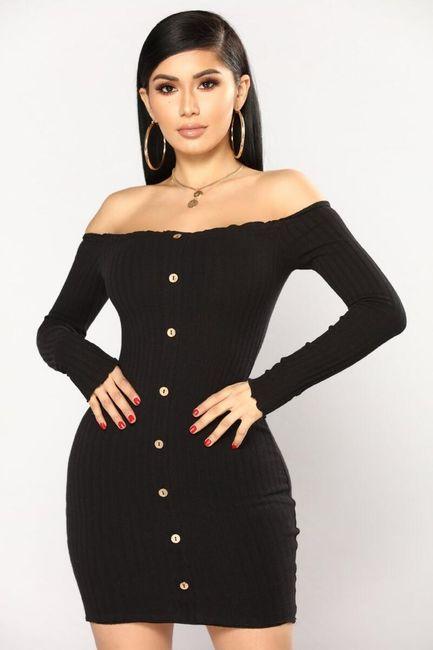 Damska sukienka z długimi rękawami GB40 1