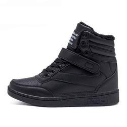 Высокие кроссовки - классические и теплые