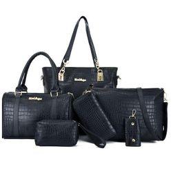 Veliki set ženskih torbi - 6 delova AT_32652548666black