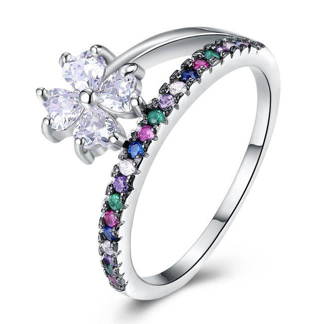 Ženski prsten B03750 1