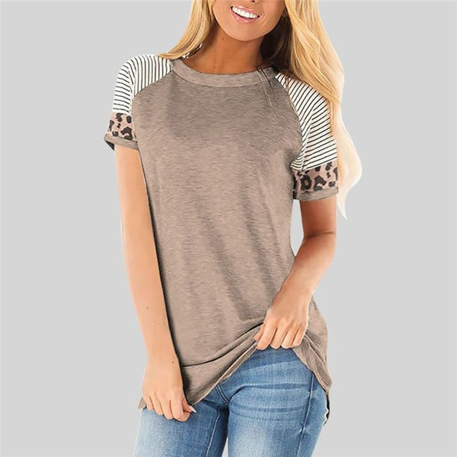Damska koszulka z krótkim rękawem Emily 1