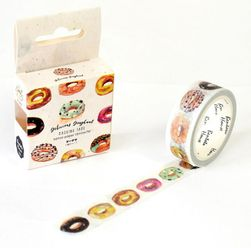 Washi páska s donuty