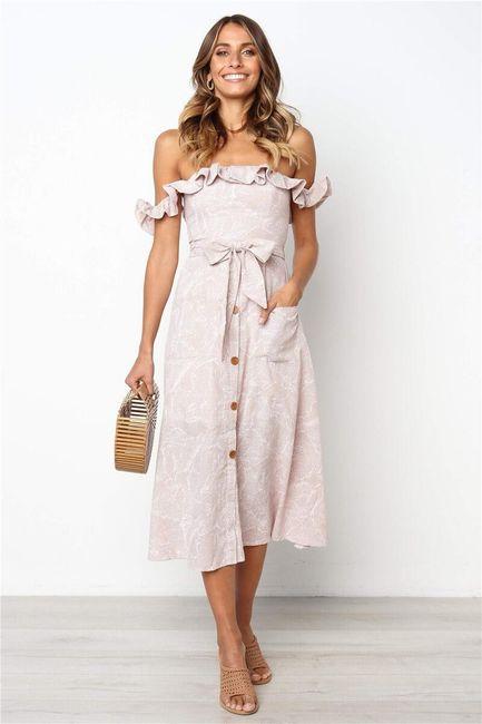 Damska sukienka bez ramiączek Cherice 1