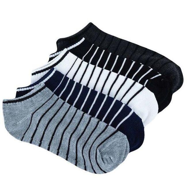 Kotníkové ponožky - 5 párů 1