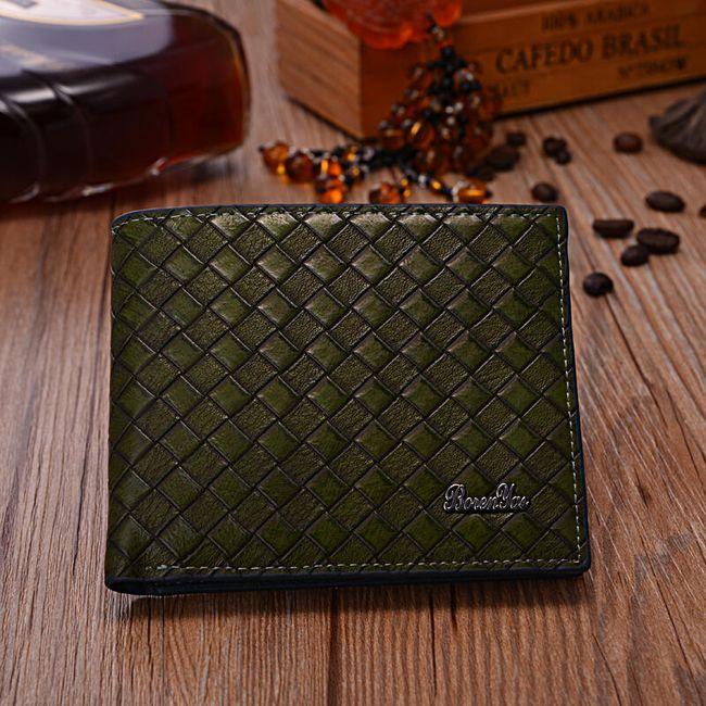 Egyszerű férfi pénztárca - több szín