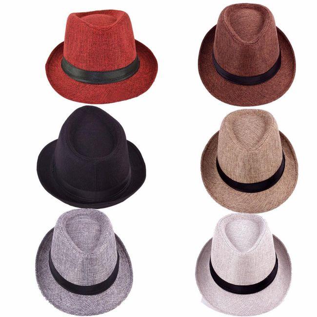 Шляпа с черной лентой 1