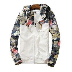 Çiçekli bayan ceket