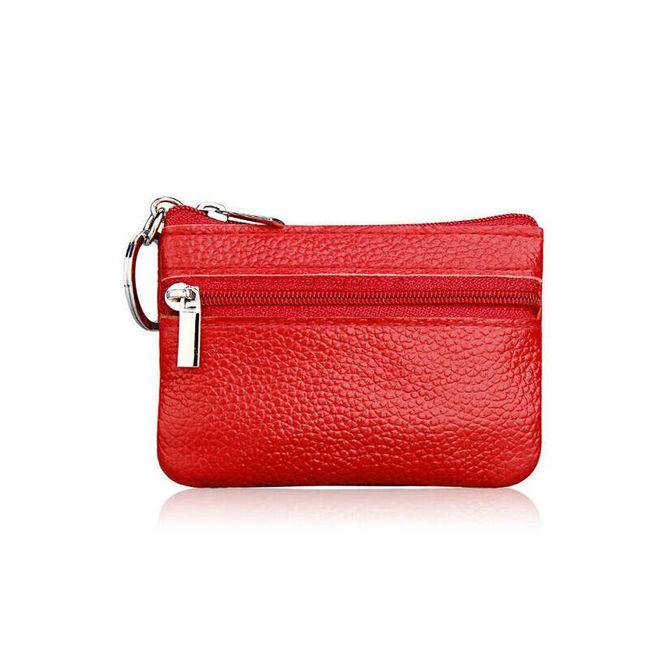 Dámská kožená mini peněženka - více barev 1