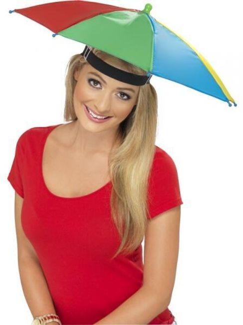 Deštník na hlavu 1