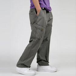Moške hlače s stranskimi žepi