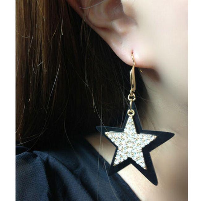 Náušnice ve tvaru hvězdiček 1
