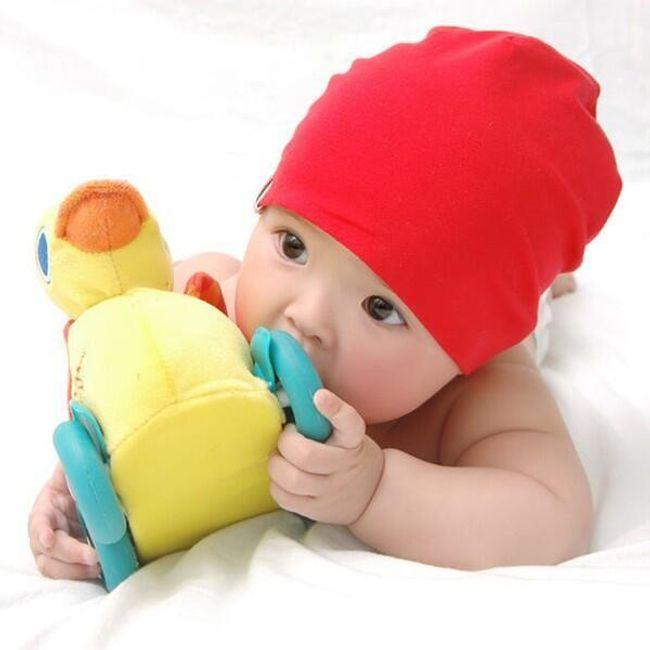 Enostavna otroška kapa - več barv 1