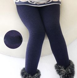 Ciepłe legginsy dla dziewczynek - 7 kolorów