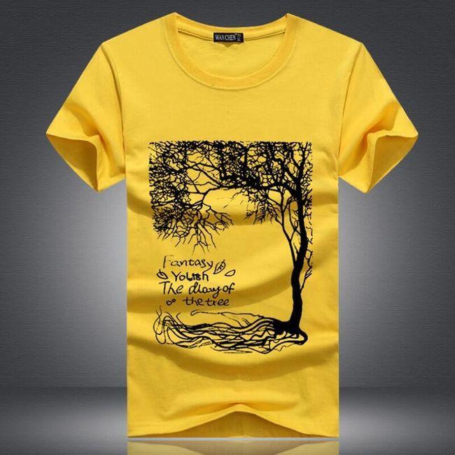 Мъжка тениска с къс ръкав Fill 1