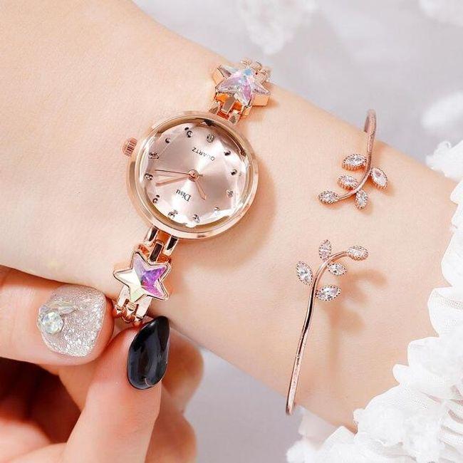 Dámské hodinky s náramkem B08390 1