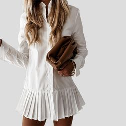 Bauan gömlek elbise TF9684