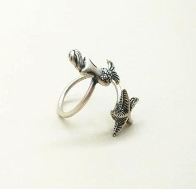 Damski pierścionek Arielle 1