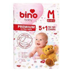 BINO BABY PODLOŽKA M 5 + 1 zdarma LP_300001