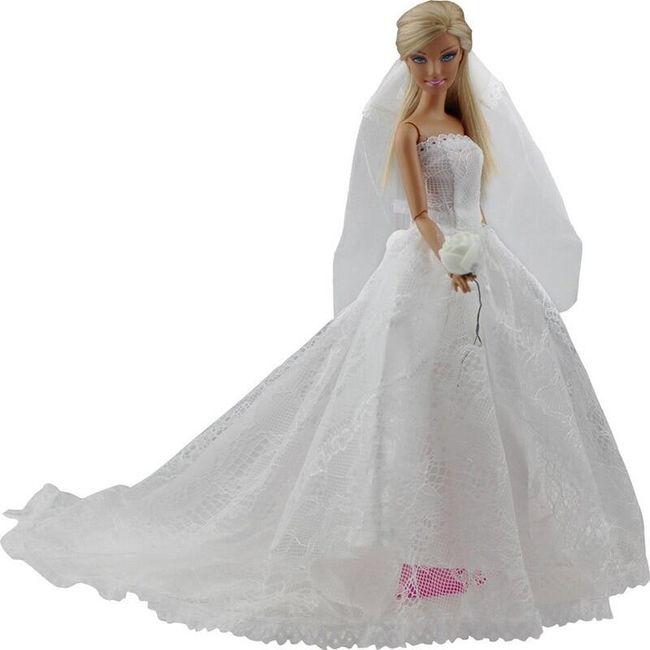 Šaty pro panenku W32 1