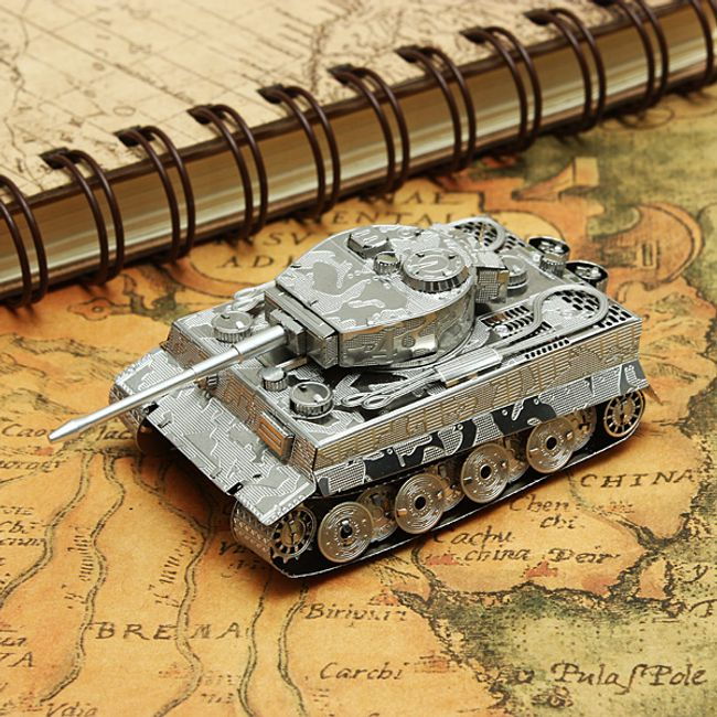 3D modell puzzle tank Tiger 1