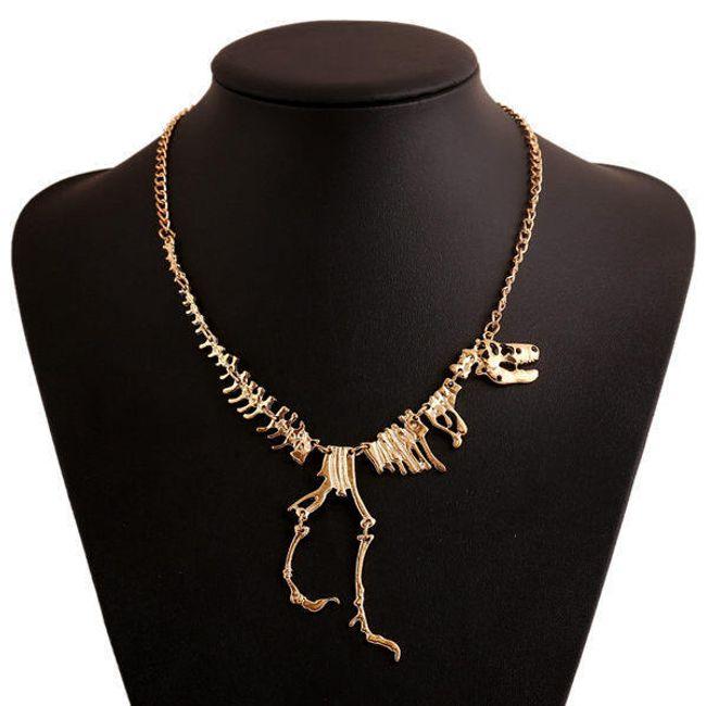 Elegáns nyaklánc tyrannosaurus csontváz 1