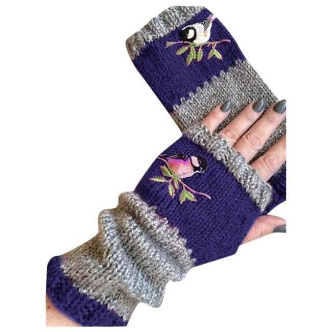 Damskie rękawiczki Bird 1