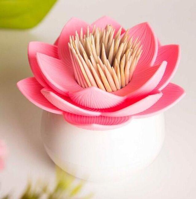 Lotosový květ - nádobka na párátka 1