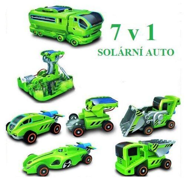 Zabawka edukacyjna 7 w 1 na energię słoneczną 1