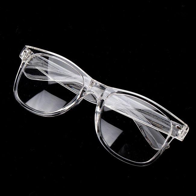 Unisex üvegek átlátszó kialakítással 1